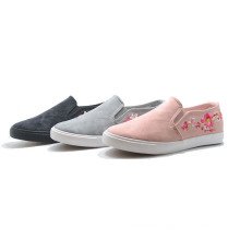 New Lint Inwrought Flower Sports Women Student High Top Shoes