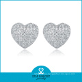 Wholesale Sterling Silver Stud Earrings in Factory Price (E-0006)