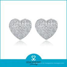 Los mejores 925 pendientes de plata del corazón