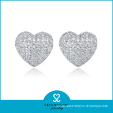 Best Selling 925 Silver Heart Earrings
