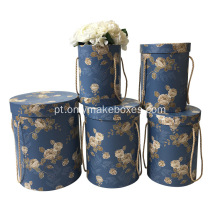 Rose Gift Paper Bouquet Round Flower Box