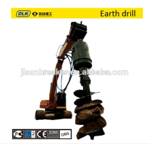 Auger Drive Unit, earth Drill, hydraulic Earth Auger for 10-15tons excavator