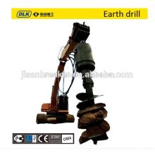 Unidade de tracção helicoidal, terra Drill, trado de terra hidráulico para 10-15tons escavadora