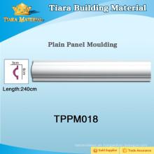 Moldura de panel de pared multicolor PU con rendimiento fiable