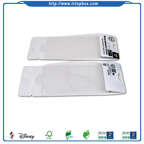 Customized Clean PVC Phone Case Packaging