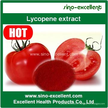 Extrait de tomate naturel de haute qualité Lycopene Powder