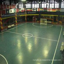 De alta calidad de rodillos y cerradura Sport Flooring para el campo de fútbol