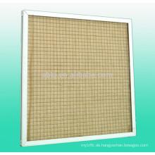 Hochtemperaturbeständiger Luftfilter vor der Verkleidung