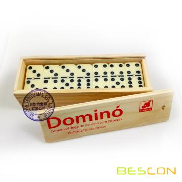 Double Six Ivory Domino Sets