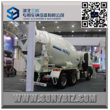 Hino 12 Cbm 10 Wheeler Camión mezclador de hormigón