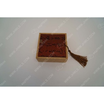 Red cloth Chinese character jewelry box