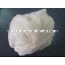 Chino 100% fibra de cachemira de cabra Lt.grey mongol fino interior depilado con SGS