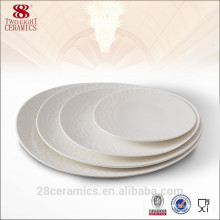 Good Quality Porcelain Dinnerware Set Oval Plate For Hotel