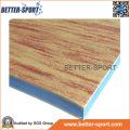 Madeira padrão EVA Floor Mat, tapete de quebra-cabeça EVA na cor de grão de madeira