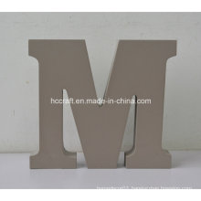 Wooden Letters Made of MDF Used for Home Decoration