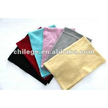 Frauen Kaschmir gestrickt plain Schals Schalldämpfer kurze Schals Pashmina