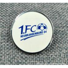 Broches / insigne de football en émail sur mesure
