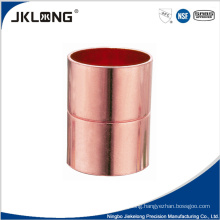 J9001 Copper fitting straight Coupling with roll