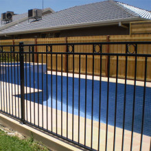 Welded Iron Swimming Pool Fence for Backyard