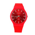 Hot sell colorful silicone swatch watches