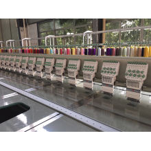 28 Cabeça 9 cores Flat Embroidery Machine