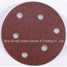Pulido de rueda amoladora disco abrasivo fabricante gancho & Loop disco de lijado