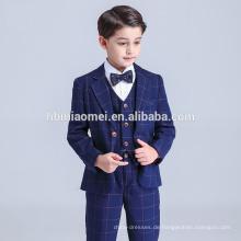 Heißer Verkauf 2017 Großhandel China Fabrik Cheepest Preis Jungen Anzüge Mit blaue Farbe