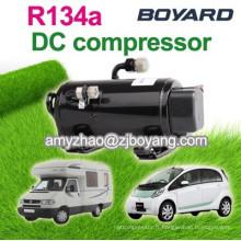 Compresseur automatique automatique Boyard DC 12V R134a pour voiture portable portable Air -con
