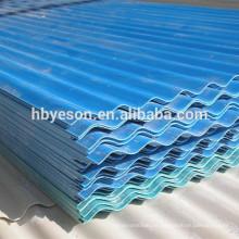 Color aluminio corrugado techos hoja