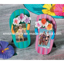 Summer Vacation Flip Flop Photo Frame