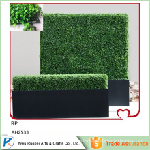 Venta al por mayor Artificial Plastic Bodge Hedge, seto de boj artificial, seto artificial