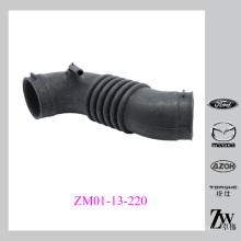 O motor parte o ar A entrada preta Mangueira de borracha duto de ar fresco OEM: ZM01-13-220 para o protege de mazda 323