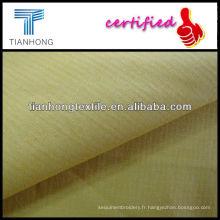 Vérification de Spandex Polyester coton teint tissu/Check teinté tissu/Spandex, tissu teinté