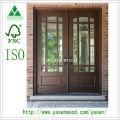 Patio/Front French Wood Door (wooden door)