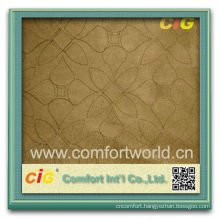 2014 Competitive price new design warp knitting faux embroidery auto suede fabric