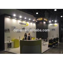 shanghai modular wooden exhibition booth, exhibition booth design free price