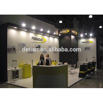 shanghai modular wooden exhibition booth, exhibition booth design free price