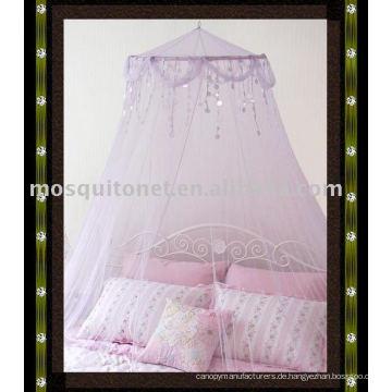 Sequins Mosquito Net, Moskito Baldachin, kreisförmige Moskitonetz