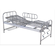 Manual stainless steel adjustment bed