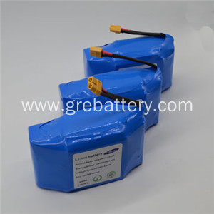 18650 lithium battery pack for hoverboard 36V 4.4Ah