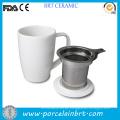 Großhandel Keramik Teetasse mit Edelstahl Infuser