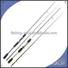 SPR015 Canne à pêche Spinning Brave, 2 sections Carbon Rod, Plats de pêche en plein air