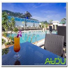 Audu Thailand Sunny Hotel Project cadeira de piscina em vime