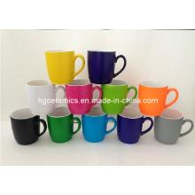 Tasse de 10oz de fluorescence Tasse de 10oz de café