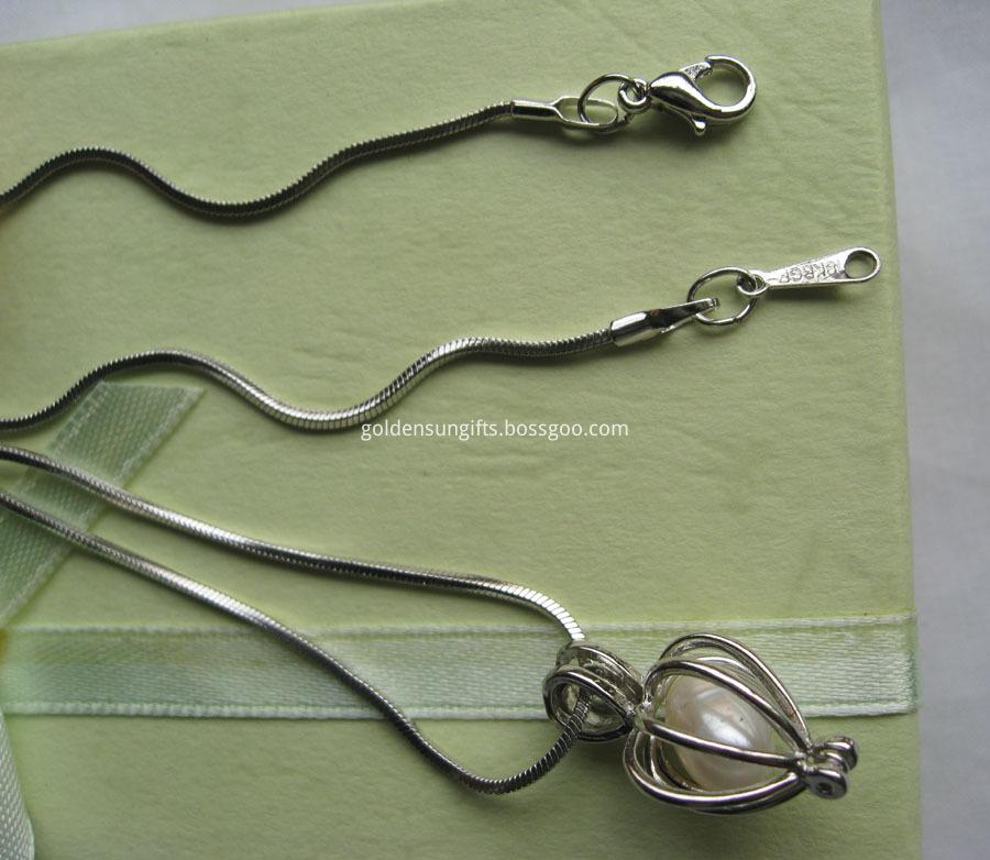 Pearl Snake Chain
