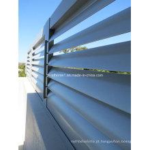 Sombreamento solar de alumínio não corrosivo exterior