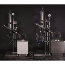 Evaporador rotativo industrial 50L con condensador de bobina vertical y baño de aceite (RE-5250A)