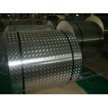 3003 Placa de rodadura de aluminio para la caja de remolque
