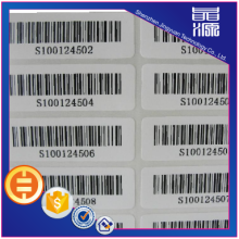 Autocollant Frangible Paper Security label