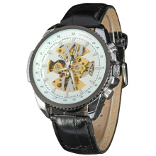 odm chronograph men watch skeleton design
